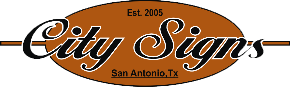 city signs sign repair & installation in san antonio