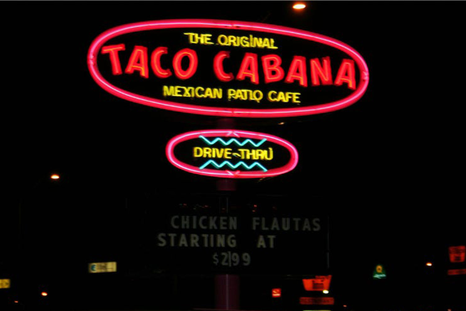 neon sign repair for taco cabana